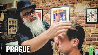 💈 The American Barber Haircut in Prague , Czech Republic