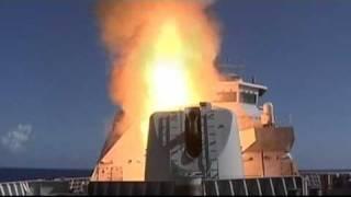Raket lancering Hr. Ms. Tromp