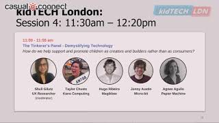 The Tinkerer's Panel - Demystifying Technology | PANEL