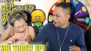 Disgusting Jelly Bean Boozled Challenge with my Mom | VOMIT FAIL!