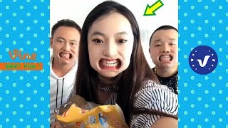 Best Funny Videos 2019 ● Cute girls doing funny things P6