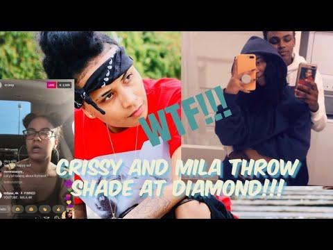 Xxx Mp4 MILA J AND CRISSY THROW SHADE AT DIAMOND DYNASTY ON LIVE CRISSY CALLS DIAMOND OBSESSED WITH MILA J😱 3gp Sex