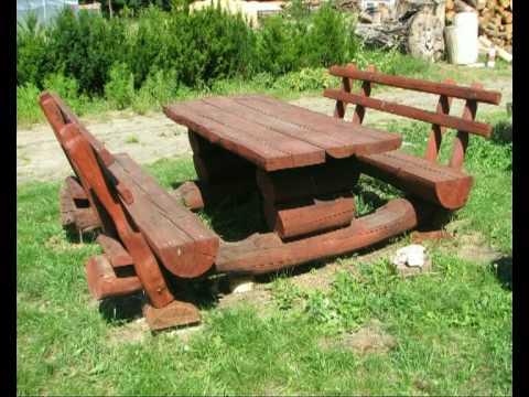 Wyroby ogrodowe z drewna 2