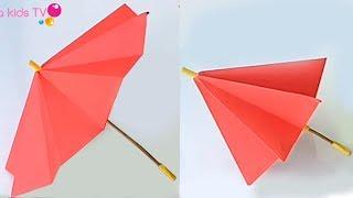 How to make paper umbrella
