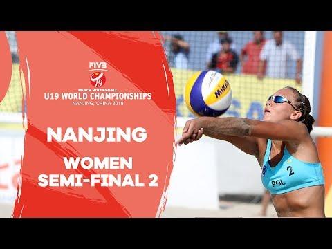 Xxx Mp4 Nanjing 2018 Beach Volleyball U19 World Championships Women Semi Final 2 3gp Sex