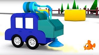 Cartoon Cars - SNOWPLOW PLAYGROUND Cartoons for Children - Videos for Kids - Kids Cars Cartoons!