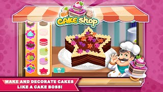"""Cake Shop Bakery Chef Story """"Casual games"""" Android Gameplay Video"""