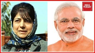 Jammu And Kashmir CM Mehbooba Mufti To Meet PM Narendra Modi In Delhi