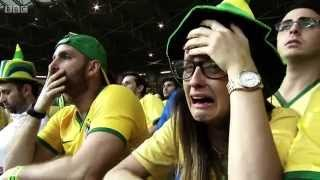 BBC FIFA World Cup 2014 - Reaction to Brazil's humiliating 7-1 loss to Germany
