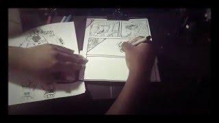 (Time lapse 31) Godzilla vs kiryu comic strip page 2
