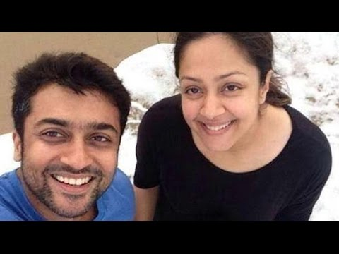 Surya celebrates Holi to make Jyothika happy | Hot Tamil Cinema News