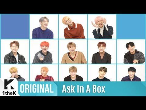 ASK IN A BOX SEVENTEEN 세븐틴 Part.1 Clap 박수