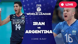 Iran v Argentina - Group 1: 2017 FIVB Volleyball World League