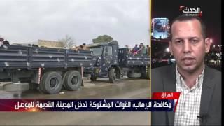القوات تحاصر داعش بالكامل بعد قطع آخر منفذ لأحياء غرب الموصل