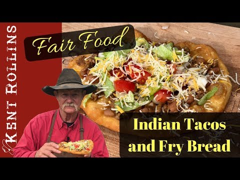 Indian Tacos with Fry Bread Easy Fair Food Favorite