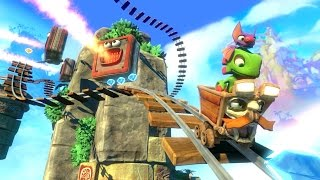 Yooka Laylee NEW Multiplayer Gameplay Trailer (PS4/Xbox One/PC)