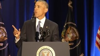 Obama Delivers Farewell Speech to the Nation