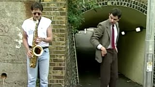 Mr. Bean - Saxophone Player