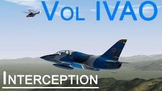 VOL COMMENTÉ - L-39 sur IVAO - Interception !