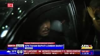 KPK Tahan Bupati Lombok Barat Zaini Arony #Berita 18 Maret 2015