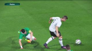 PS4 PES 2017 Gameplay Germany vs Mexico HD