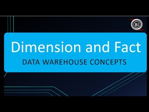 What is Dimension and Fact in Data Warehouse
