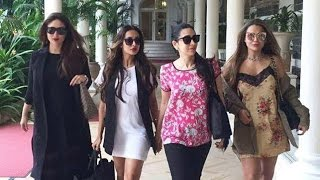 Kareena Kapoor Hot With Karishma Kapoor, Malaika Arora Khan, Amrita Arora