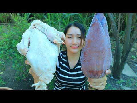 Xxx Mp4 Yummy Chicken Salad Blossom Cooking Blossom Salad Recipe Cooking With Sros 3gp Sex