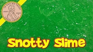 Green Snotty Slime, DuneCraft Make Your Own Slime Kit
