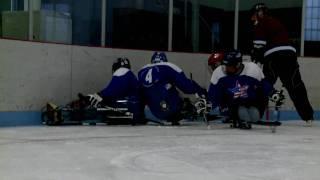 Winter Sports Clinic 2010: Paralympian Discovers Hockey