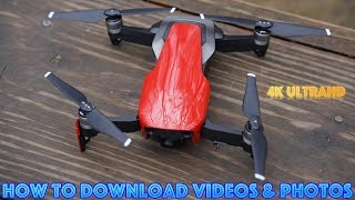 How to Download Mavic Air Videos & Photos