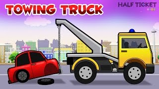 Real Monster Towing Truck - Videos For Kids | Real City Heroes Trucks