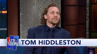 Tom Hiddleston Warms Up For His Broadway Show By Playing