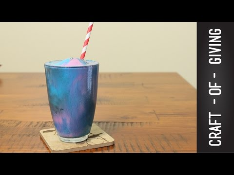 HOW TO MAKE GALAXY THICKSHAKES  | Craft of Giving