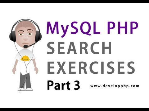 3. MySQL PHP Search Programming : SQL LIKE Syntax UNION and AS Alias with Filters Tutorial