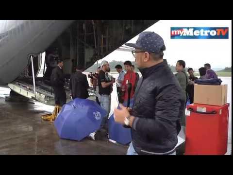 Pesawat TUDM hantar bantuan mangsa banjir
