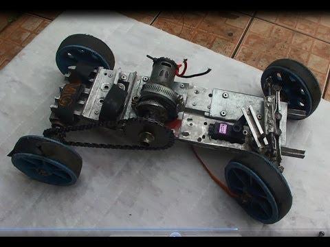 Como fazer carrinho de controle remoto caseiro 01