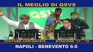 QSVS - I GOL DI NAPOLI - BENEVENTO 6-0 TELELOMBARDIA / TOP CALCIO 24