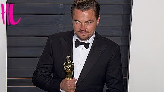 Leonardo DiCaprio Wins First Oscar And Then Loses It - VIDEO