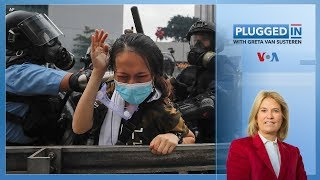 Hong Kong Protests | Plugged In with Greta Van Susteren