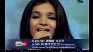 Meenal Jain singing NIGAHEIN MILANEY KO