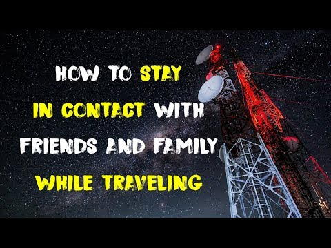 How To Stay In Touch With Friends & Family While RV Traveling
