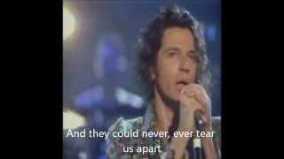 INXS - Never Tear Us Apart (with lyrics)