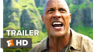 Jumanji: Welcome to the Jungle International Trailer #2 (2017)   Movieclips Trailers
