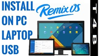 Remix OS on PC : Download & Install Remix OS For Laptop PC Pendrive
