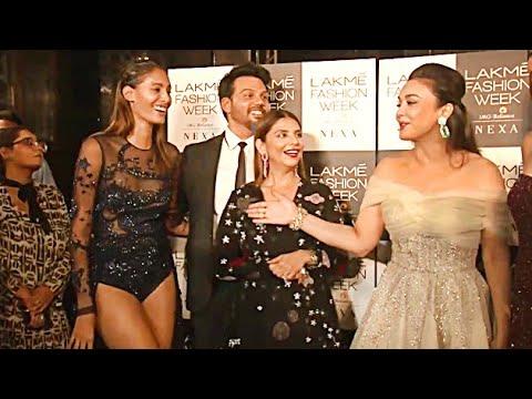 Preity Zinta's FUNNY Moment At Lakme Fashion Week DAY 3 | Lehren TV