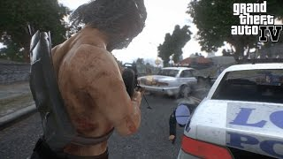 Grand Theft Auto IV - Rambo [Mod] Film #Gta IV