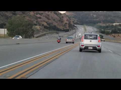 Driver Captures Road Rage Incident in Santa Clarita