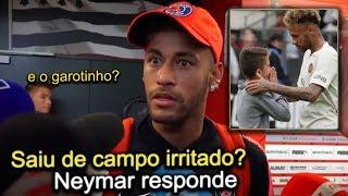 Neymar fala após o jogo e explica sobre garotinho que entregou a camisa