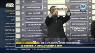 Se sorteó la Copa Argentina 2017